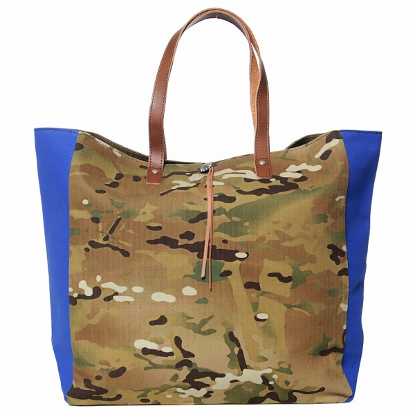 Sophnet. Cotton-Canvas Color Block Tote Bag