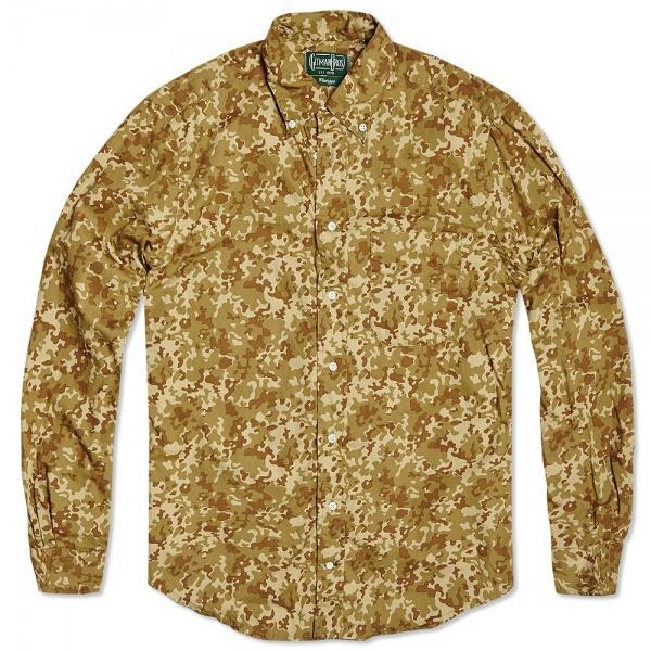 Gitman Vintage Desert Camouflage Shirt