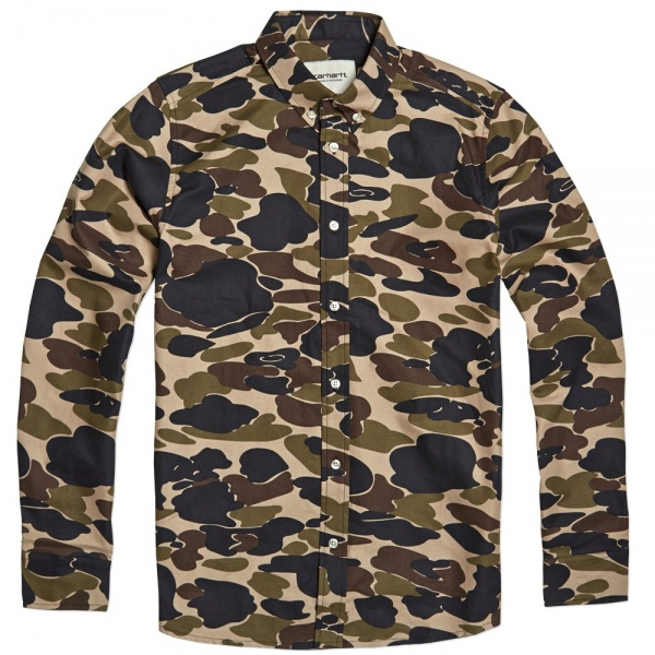 Carhartt Camouflage Oxford Shirt