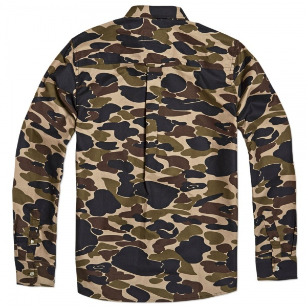 Carhartt Camouflage Oxford Shirt 1