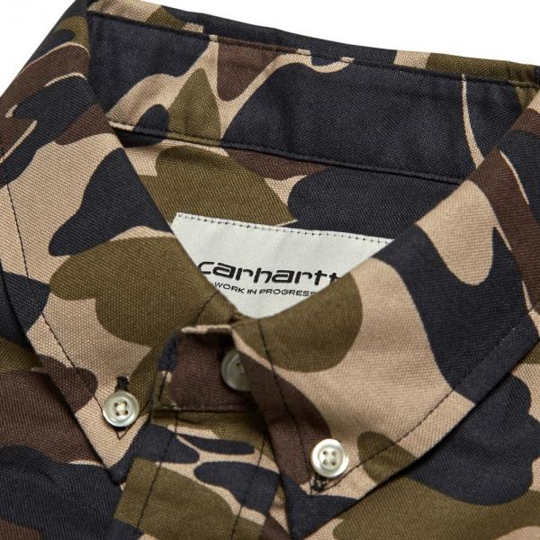 Carhartt Camouflage Oxford Shirt 3