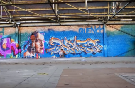 Sofles Limitless Time-Lapse Graffiti