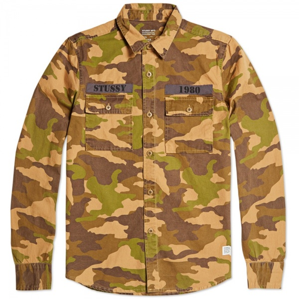 Stussy Holiday Camouflage Shirt