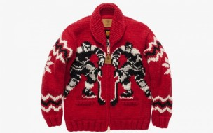 UNDEFEATED X CANADIAN SWEATER COMPANY LTD. 'PENALTY' SWEATER