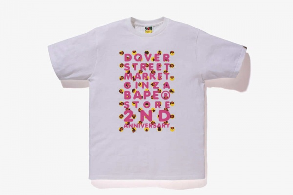 A Bathing Ape x Dover Street Market Ginza 2nd Anniversary T-shirt