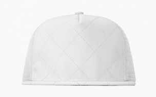 Stampd Quilted Leather Trucker Hat