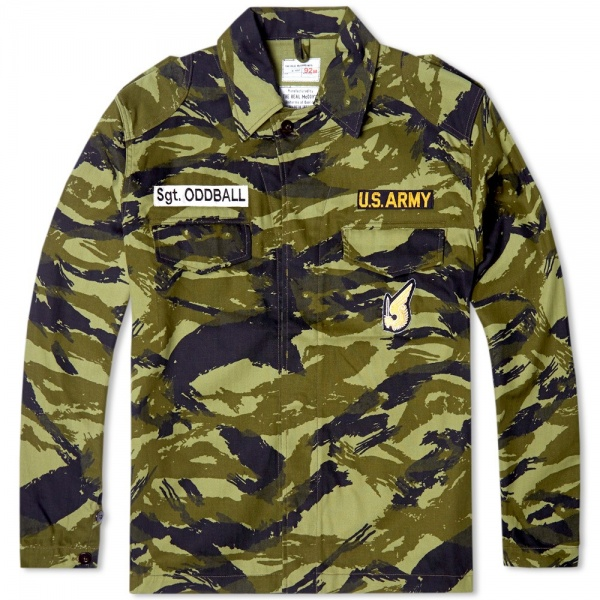 The Real McCoy's Sgt. Oddball Lizard Shirt Jacket